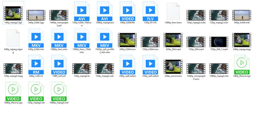 通过恒星播放器显示Windows系统视频文件缩略图插图